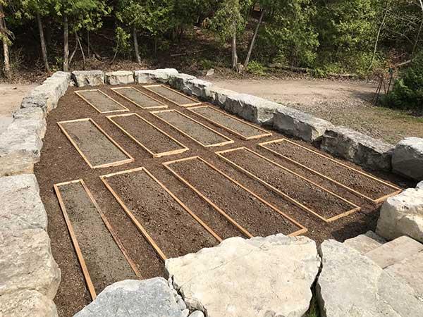 Kettle Lake topsoil garden foundation