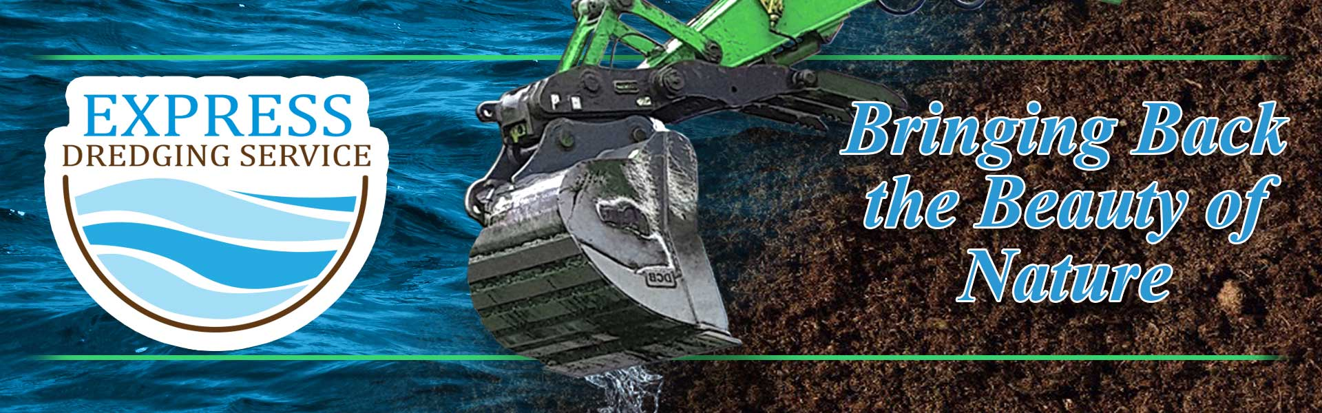 Express Dredge Service - Kettle Lake Soil - Full of Nutrients and
