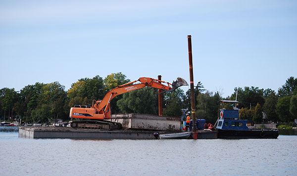 express dredge service